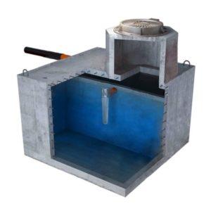 Септик бетонный двухкамерный