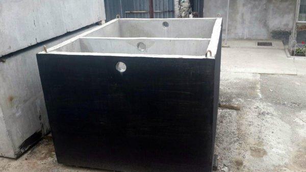 Септик 4000 литров двухкамерный для высоких грунтовых вод