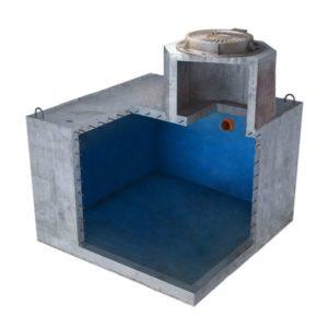 Купить емкость для выгребной ямы 6000 литров для высоких грунтовых вод