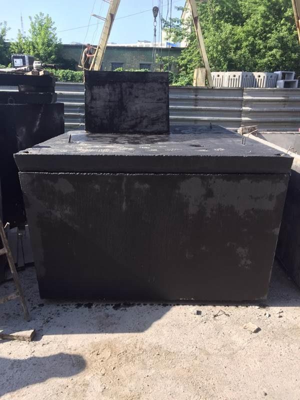 Скважинный кессон объемом 6000 литров