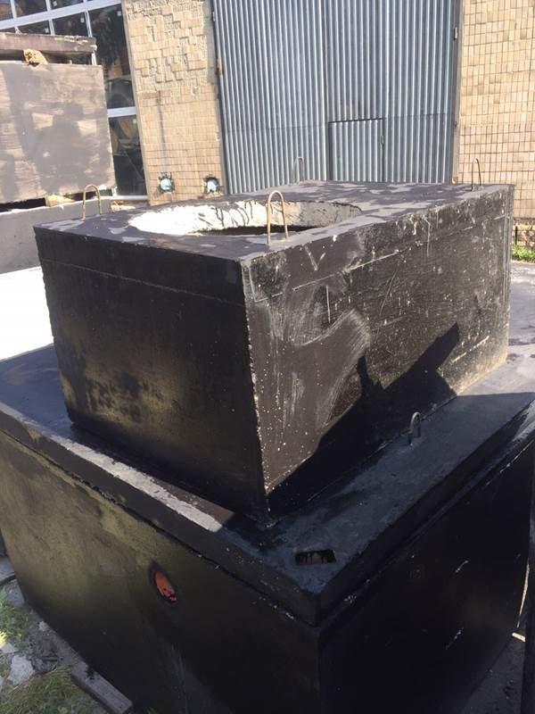 Кессон-погреб 6 м. куб. из гидробетона