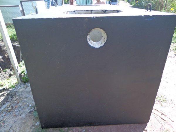 Септик 4 м. куб. бетонный