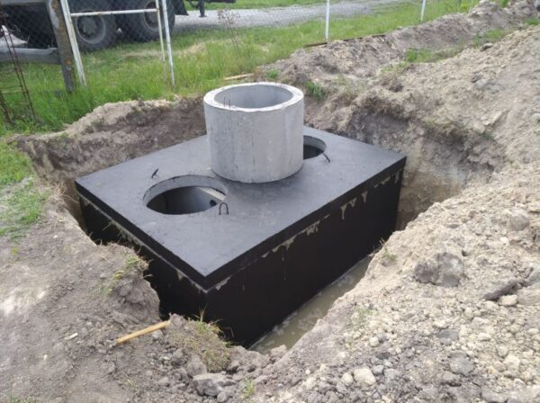 Септик 10000 двухкамерный бетонный